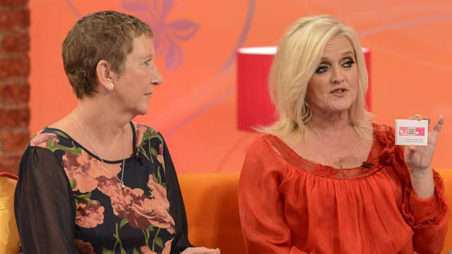 Promoting Breakthrough Breast Cancer ... Bernie Nolan in action