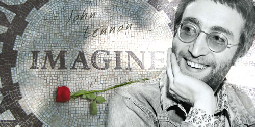 Imagine there's no heaven: John Lennon