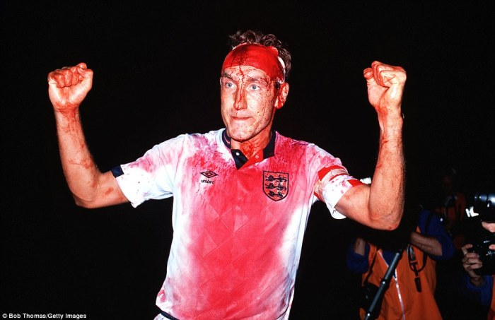 Lunatic: Terry Butcher displaying British values