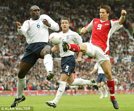 Getting in the way - Sol Campbell