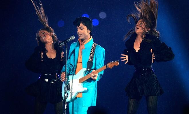 A disgusting, prurient display - Prince in concert