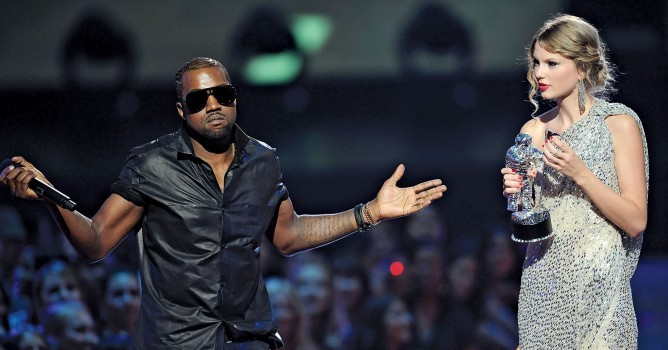 Note to Young Fathers: it's all right copying Kanye, just leave Taylor Swift alone if you see her at awards ceremonies