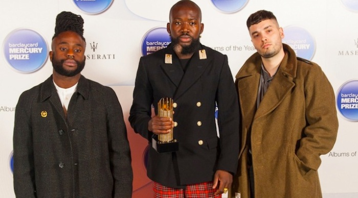 Edinburgh's finest: Mercury winners Young Fathers