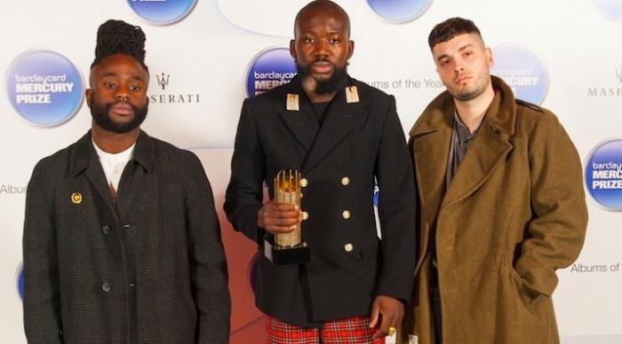 Edinburgh's finest: Mercury winners Young Fathers