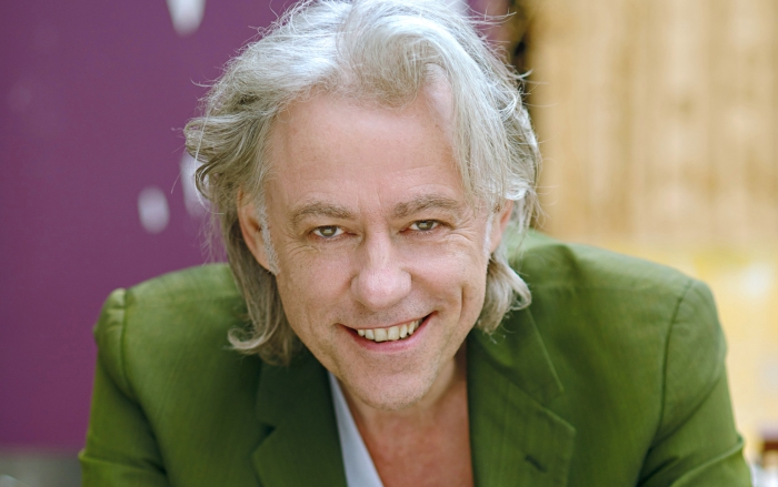 Don't look directly into his eyes - Bob Geldof