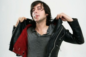 Carl Barat doing what he does best