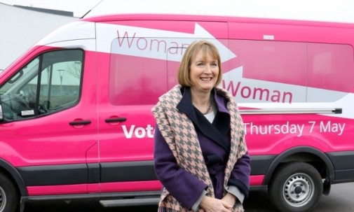 Harriet Harman busy patronising women
