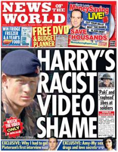 Harmless fun... Prince Harry